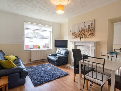 Photo for Spacious, affordable two bed apartment close to main transport links.