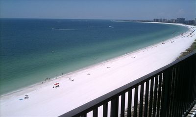 Million dollar view from the balcony!