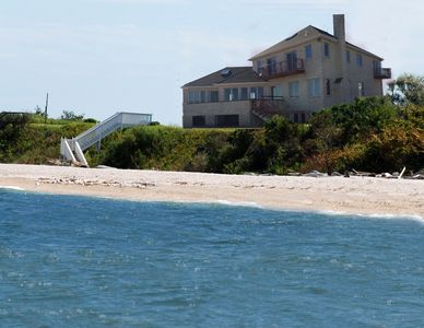 Dream house vacation in Long Island Sound.