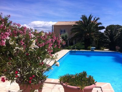 Photo for La Belle Scribote - Waterside Villa With Magnificent Views Of Étang And Sète