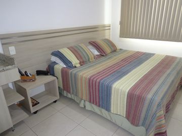 Flat in the heart of Brasilia, close to the Ministries and sights.
