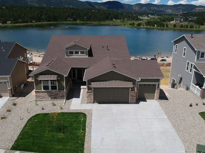 Photo for *Grand Opening* Brand New Lakefront Luxury Home, 3 Kings!, Hot Tub, AC, Paddle Boards, Kayaks, Views