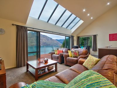Photo for Extensive lake and mountain views