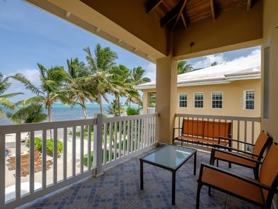 Photo for Beach and ocean view, pool with swim-up bar, close to town!