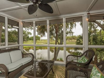 Photo for 3BR Lagoon and Golf View Cottage w/ Wild Dunes Amenities
