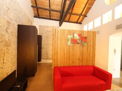 Photo for Small Loft Suite 8 Santa Croce in Cagliari Castello with all the comforts