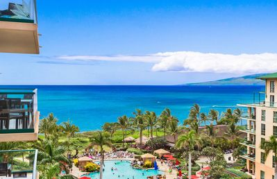 Photo for Maui Resort Rentals: Honua Kai Hokulani 723 – Luxurious 7th Floor Oceanview Studio