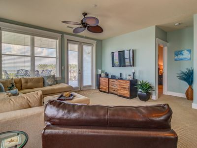 Photo for Dog-friendly bayfront condo w/ balcony, ocean views, and shared pool!