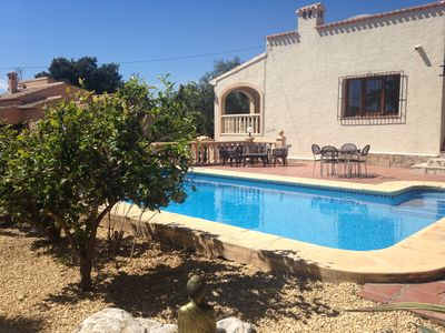 Photo for Private sparkling pool, lovely garden, close to beaches & scenic walks.