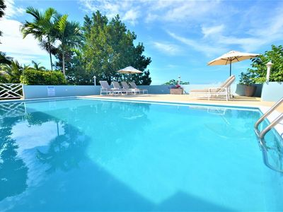 Photo for FULLY STAFFED! POOL! BUTLER! CHEF! BEACH CLUB! SEAVIEWS! Serendipity, 5BR