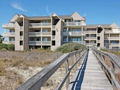 Photo for Salty Hammocks A2: 2 BR / 2 BA condo in Carolina Beach, Sleeps 6