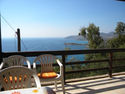 Photo for Villa Searenity, 3-roomed for 5 persons with panoramic view for summer holidays