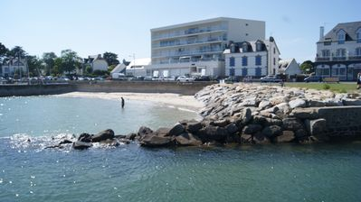 Photo for Charming studio 50 meters from the beach