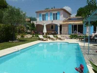 Photo for Beautiful Villa 190m2, Garden 2700m2, Plein Sud, Quiet, Swimming Pool Private