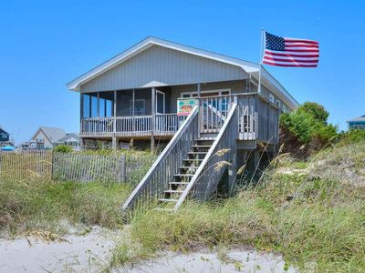 Photo for Oceanfront, 3BR/2BA Home -Walking Distance to Pier (Fishing) & Restaurant-Sleeps 8