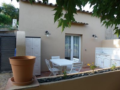 Photo for Bright apartment 10 minutes from the beaches Ste Maxime