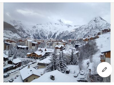 Photo for 50m2 apartment on the slopes and all amenities