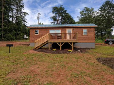 Photo for TINY CABIN IN TRYON NC - 3 MILES TO TIEC- PET FRIENDLY