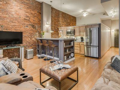 Photo for Loft on 2nd, Walk To All Downtown Nashville Attractions!