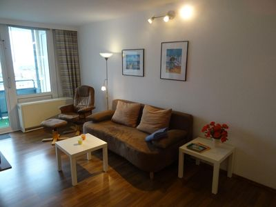 Photo for Very nice apartment 32 TYPE D: Probsteier Platz 4. Floor with beautiful Baltic Sea view