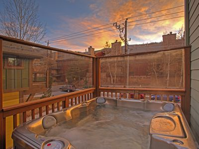 Photo for Luxury Town Home just steps away from PCMR base ski lift and Main St.