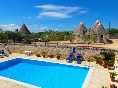 Photo for TRULLO PELLEGRINI - HOLIDAY IN TRULLI