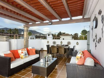 Photo for HUGE PRIVATE ROOF TERRACE JULY\AUG DISCOUNTED RATES