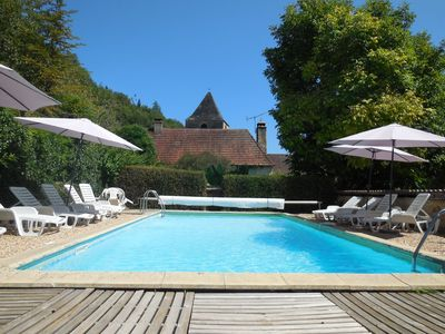 Photo for Promo April Gîte 2 pers Périgord Black heated pool, Spa, park, games & wifi