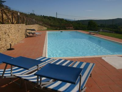 Photo for Brilliant Home in Chianti, Tuscany with Pool & Gardens