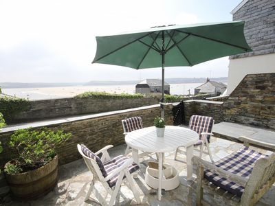 Photo for Attractive 3 storey Holiday Cottage overlooking the River Camel in Rock
