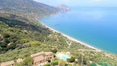 Photo for Villa Rosa is a large Sicilian villa surrounded by private grounds and mature trees in a wonderful h