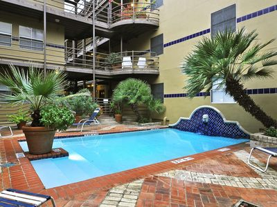 Photo for 1BR/1BA Condo with full kitchen, parking, pool