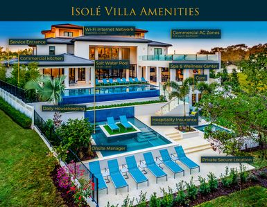 Photo for Isolé Villas | 25,000 sq. ft. | Accommodations with World-Class Hospitality