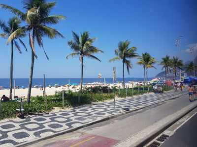 Photo for Apt Between IPANEMA and COPACABANA with PORTAL 24h - 300m from IPANEMA BEACH