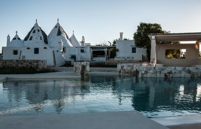 Photo for Historic trullo with swimming pool