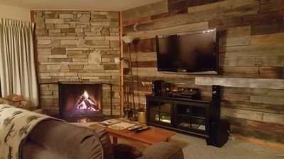 Photo for Trail Creek Rustic Luxury! 1bd w/ King/+sleeper sofa, hot tub, pool, ski home!!!