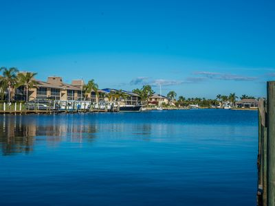 Photo for Quiet Waterfront Condo With Direct Gulf Access & the River-Front Jaycee Park!