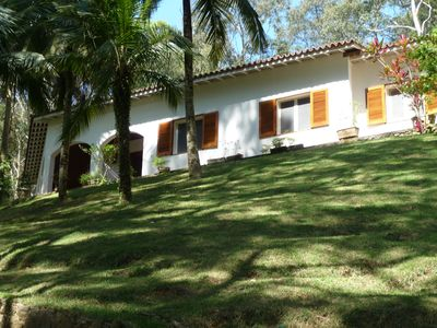 Photo for Beach house surrounded by a beautiful grove of eucalyptus trees, overlooking the sea