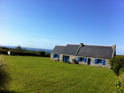 Photo for Magnificent Breton farmhouse set in an exceptional location in Cap de la Chèvre!