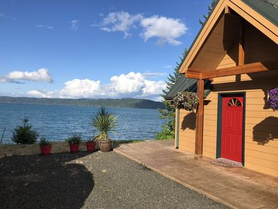 Photo for Hood Canal Waterfront Home - Incredible Views, Wildlife, Oysters,  Kayaks!