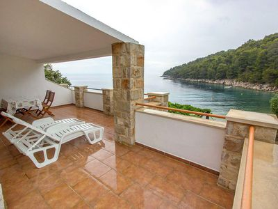 Photo for Two bedroom apartment near beach Cove Skozanje bay - Skozanje (Hvar)
