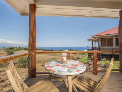 Photo for GREAT VALUE for a couple~ OCEAN VIEWS & short drive to HAPUNA & MAUNA KEA BEACH