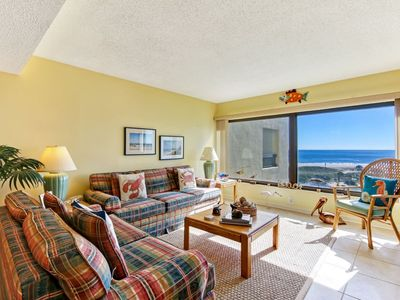 Photo for Ocean Front Condo with Private Balcony!