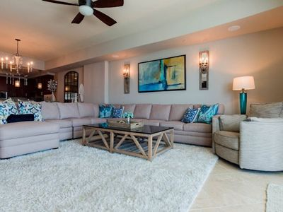 Photo for Luxurious and Stunning!!!........Professionally decorated beach front 3 bedroo