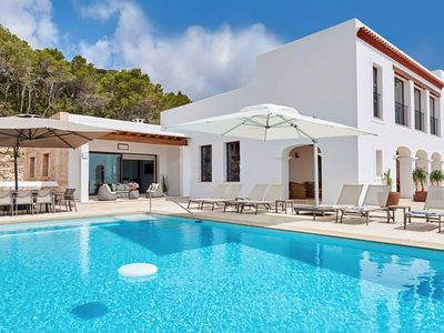 Photo for Villa Velvet in Ibiza, with private pool, 6 bedrooms, 12 sleeps