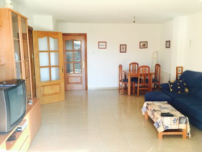 Photo for Quiet apartment near the mountain and the beach in Malgrat de Mar