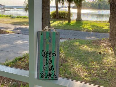 Photo for Tybee Tabby Cottage, Gorgeous Sunsets, Beach and Backriver!