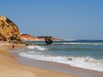 Falesia Beach, Albufeira, Faro District, Portugal