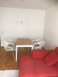 "Photo for Charming Holiday Apartment ""Grünwald Garten Wohnung"" with Wi-Fi, Garden & Terrace; Parking Available, Pets Allowed"