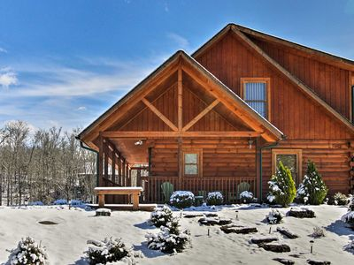 Photo for Serene Sevierville Cabin w/ Hot Tub & Pool Access!